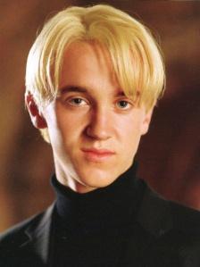 Draco sneers at your mudblood hair.